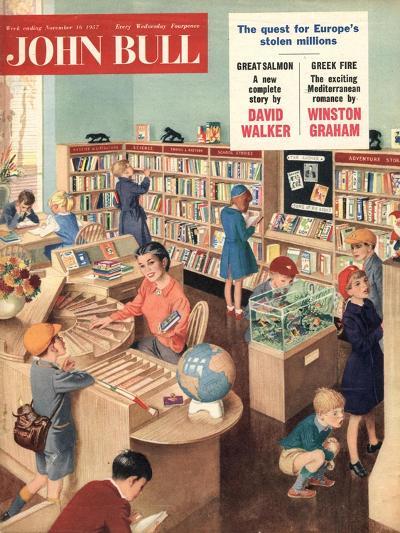 Front Cover of 'John Bull', November 1957--Giclee Print