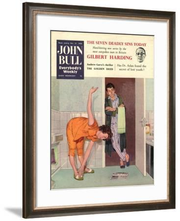 Front Cover of 'John Bull', November 1959--Framed Giclee Print