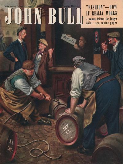 Front Cover of 'John Bull', October 1947--Giclee Print