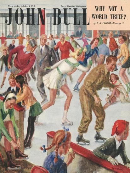 Front Cover of 'John Bull', October 1948--Giclee Print