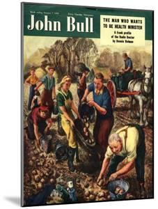 Front Cover of 'John Bull', October 1950