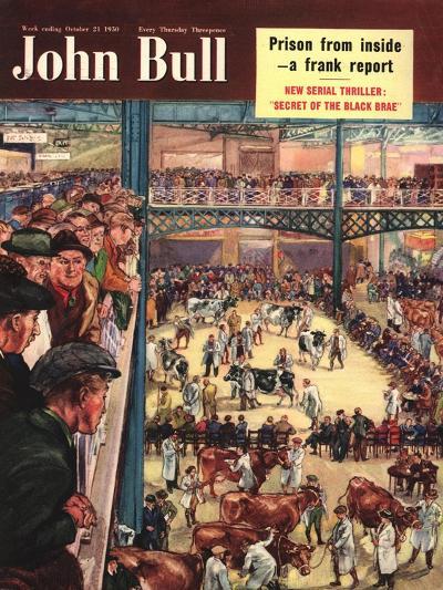 Front Cover of 'John Bull', October 1950--Giclee Print