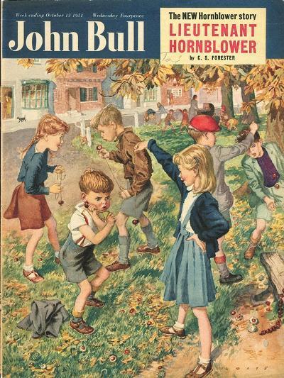 Front Cover of 'John Bull', October 1951--Giclee Print
