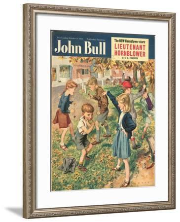 Front Cover of 'John Bull', October 1951--Framed Giclee Print