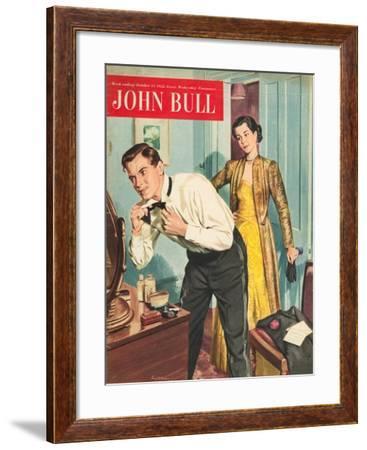 Front Cover of 'John Bull', October 1953--Framed Giclee Print
