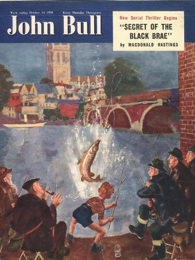 Front Cover of 'John Bull', October 1954--Giclee Print