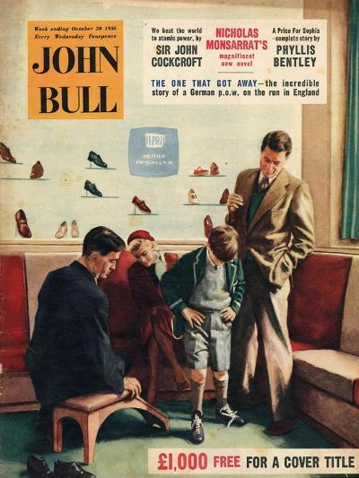 Front Cover of 'John Bull', October 1956--Giclee Print