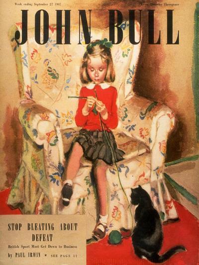 Front Cover of 'John Bull', September 1947--Giclee Print