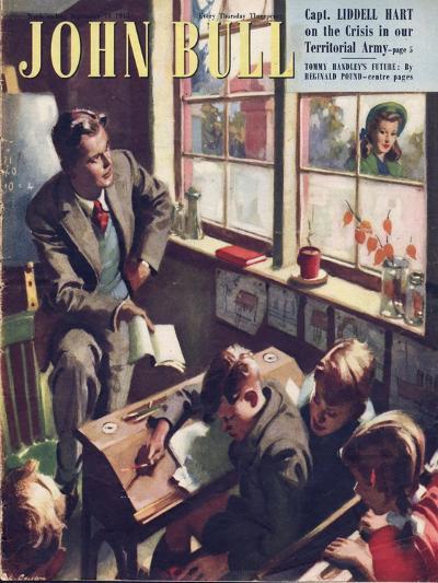 Front Cover of 'John Bull', September 1948--Giclee Print