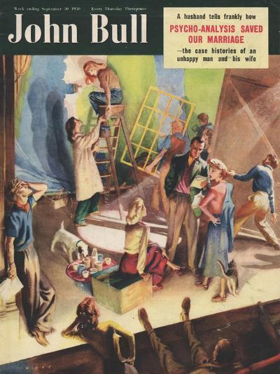 Front Cover of 'John Bull', September 1950--Giclee Print