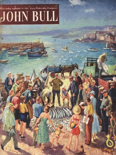 Front Cover of 'John Bull', September 1953--Giclee Print