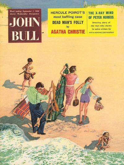 Front Cover of 'John Bull', September 1956--Giclee Print