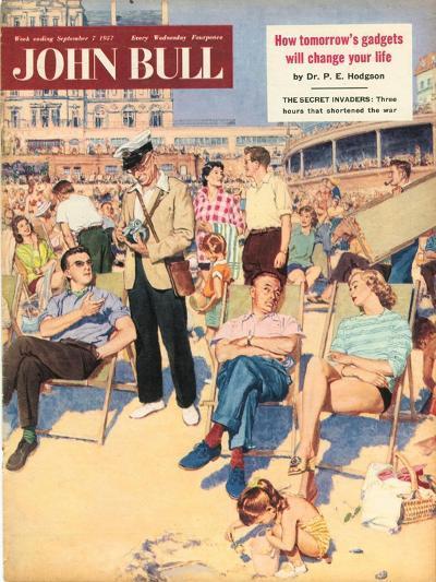 Front Cover of 'John Bull', September 1957--Giclee Print