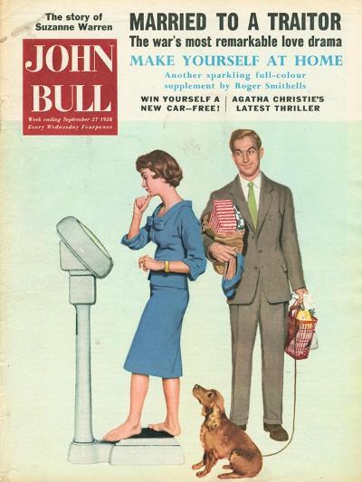 Front Cover of 'John Bull', September 1958--Giclee Print