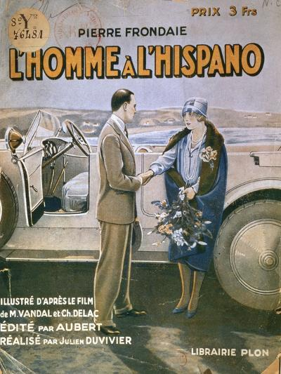 Front Cover of 'L'Homme a L'Hispano'--Giclee Print
