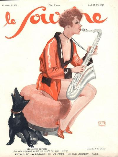 Front Cover of 'Le Sourire', 1929-Georges Leonnec-Giclee Print