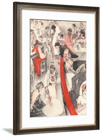 Front Cover of 'Le Sourire'--Framed Giclee Print