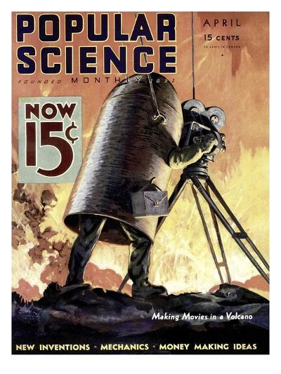 Front cover of Popular Science Magazine: April 1, 1900--Art Print