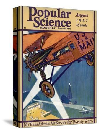 Front Cover of Popular Science Magazine: August 1, 1927