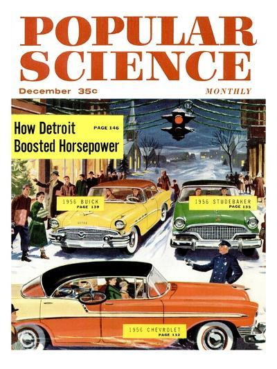 Front Cover of Popular Science Magazine: December 1, 1950--Art Print