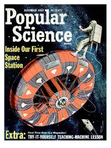Front cover of Popular Science Magazine: December 1, 1962