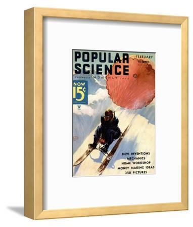 Front Cover of Popular Science Magazine: February 1, 1930