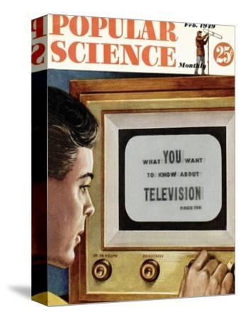 Front cover of Popular Science Magazine: February 1, 1949