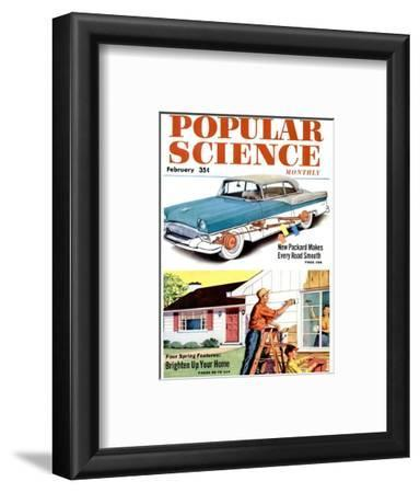Front cover of Popular Science Magazine: February 1, 1950