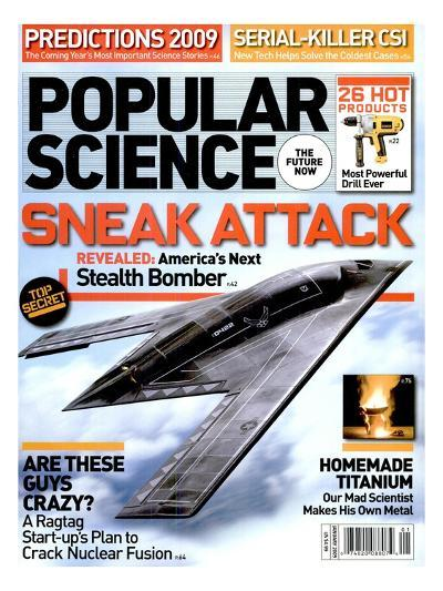 Front cover of Popular Science Magazine: January 1, 2009--Art Print