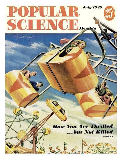 Front cover of Popular Science Magazine: July 1, 1949--Art Print