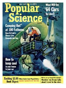 Front cover of Popular Science Magazine: July 1, 1963