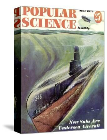 Front cover of Popular Science Magazine: June 1, 1949