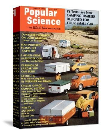 Front Cover of Popular Science Magazine: March 1, 1972