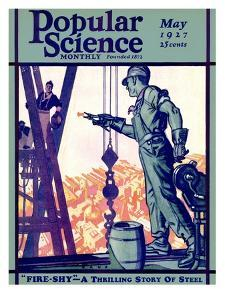 Front Cover of Popular Science Magazine: May 1, 1927