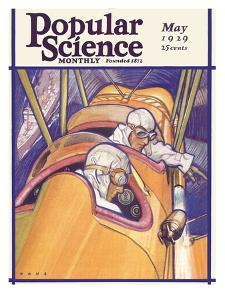 Front Cover of Popular Science Magazine: May 1, 1929