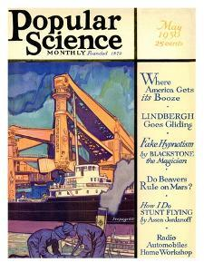 Front cover of Popular Science Magazine: May 1, 1930