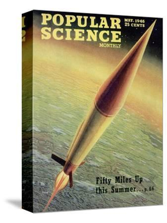 Front cover of Popular Science Magazine: May 1, 1946