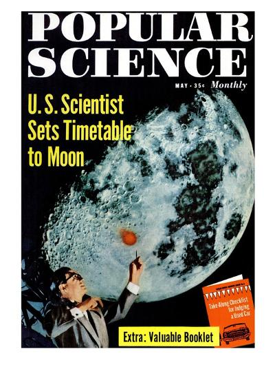 Front cover of Popular Science Magazine: May 1, 1950--Art Print