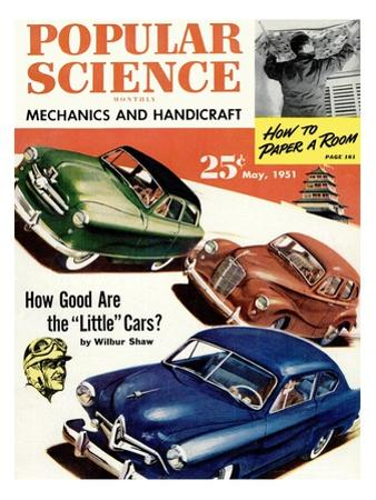 Front cover of Popular Science Magazine: May 1, 1951