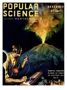 Front Cover of Popular Science Magazine: November 1, 1930