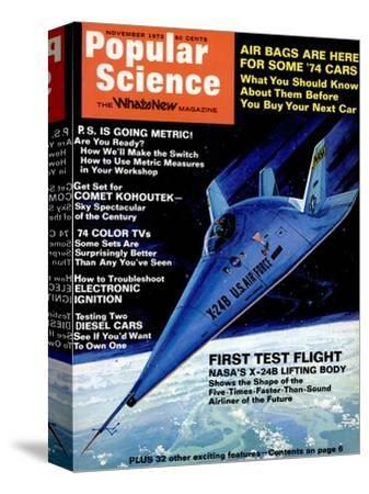 Front Cover of Popular Science Magazine: November 1, 1973