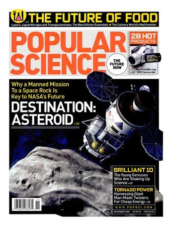 Front cover of Popular Science Magazine: November 1, 2007--Art Print