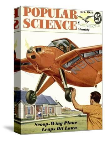 Front cover of Popular Science Magazine: October 1, 1949