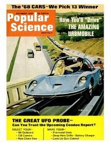 Front Cover of Popular Science Magazine: October 1, 1967