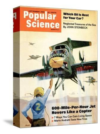 Front cover of Popular Science Magazine: September 1, 1966