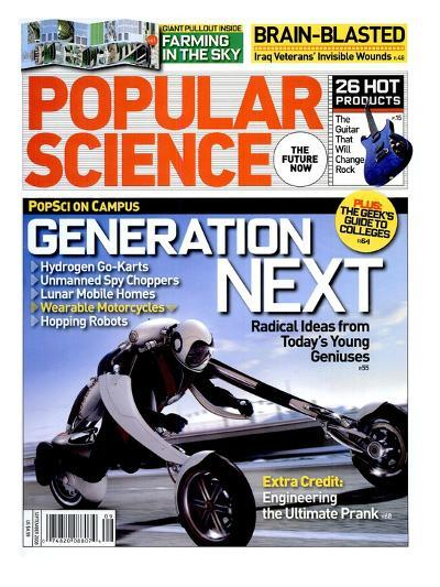 Front cover of Popular Science Magazine: September 1, 2008--Art Print