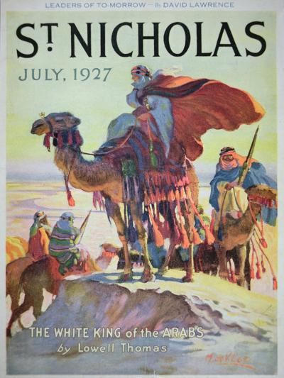 Front Cover of St. Nicholas Magazine, July 1927-American School-Giclee Print