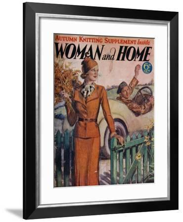 Front Cover of 'Woman and Home' October 1933--Framed Giclee Print