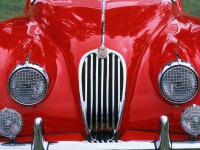 Front Detail of 1955 Jaguar Xk-140-Gary Conner-Photographic Print