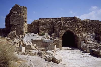 Front Door and Walls of Citadel from the Crusader Period--Giclee Print